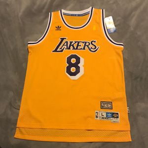 Kobe Lakers Throwback Jersey Adidas Originals for Sale in West Hollywood, CA