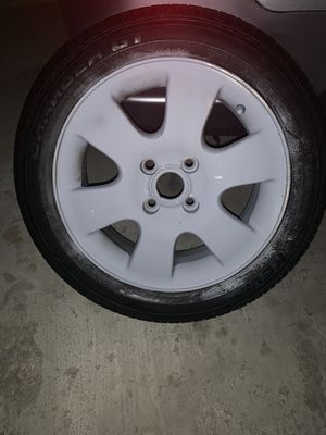 4 lugs rim and tire for Sale in Chevy Chase, MD