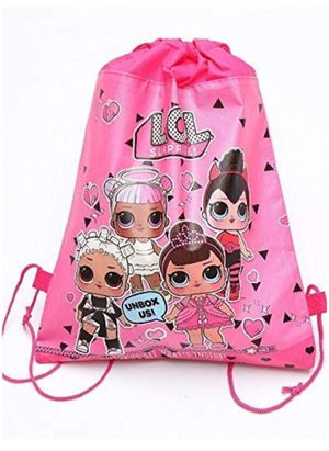 Drawstring Backpacks Gifts Bags Birthday Party Supplies Favor Bag for kids Children Girls Baby Shower (5 bags) for Sale in Mesquite, TX