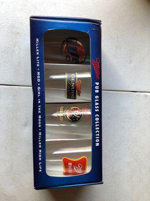 Miller Beer Glass Collection 2007 for Sale in Manassas, VA