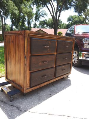 SOLID WOOD, HANDCRAFTED, STAINED for Sale in Apopka, FL
