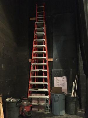 Werner 14ft Fiberglass Extension Trestle Step Ladder for Sale in Bethesda, MD