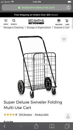 🎄🎄🎄🔥🎄🔥Super deluxe swiveled folding multi use cart🎄🎄🔥🎄🔥🎄🔥 for Sale in Rockville, MD
