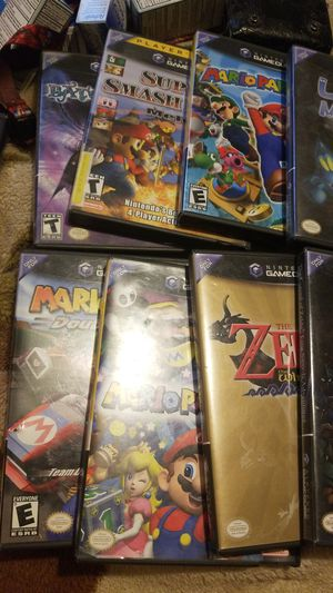 Gamecube all games are minty for Sale in Alta Loma, CA