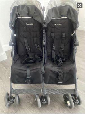 MaClaren Twin Techno Double Stroller for Sale in Katy, TX