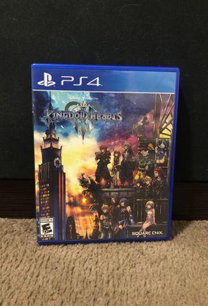 Kingdom Hearts lll for Sale in Lakeland, FL