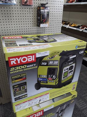 Ryobi Bluetooth 2300 Watt Gas Digital Inverter Generator for Sale in Willoughby, OH