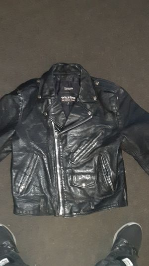 Wilson's leather jacket for motorcycle for Sale in Huntington Park, CA