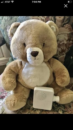 Plush Bear with Adjustable Womb Monitor Sounds for Sale in Jefferson City, MO