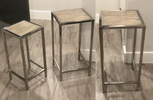 3 console table for Sale in Austin, TX