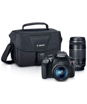 Canon EOS Rebel T6 with 2 Lenses and Case for Sale in Burlington, MA