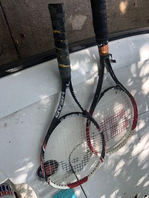 Head & Wilson tennis rackets for Sale in Clearwater, FL