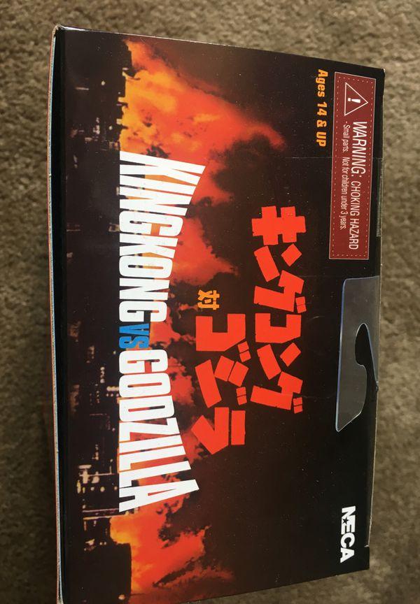 "King Kong vs. Godzilla 1962 NECA Reel Toys 7"" Action Figure"