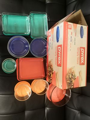 Pyrex 18pc glassware for Sale in Taylorsville, UT
