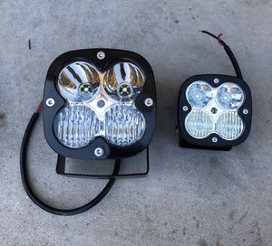 Led lights close to Baja designs squadron xl pro and squadron for Sale in Tempe, AZ