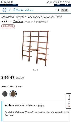 Ladder desk shelf for Sale in Stanley, NC