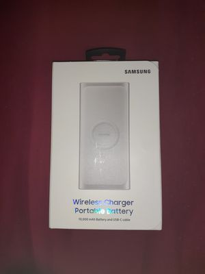 Samsung Wireless Charger/Portable Battery for Sale in Lehigh Acres, FL