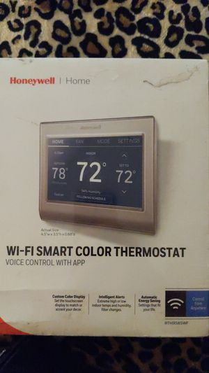 Honeywell Wi-Fi Smart Color Thermostat RTH9585WF for Sale in Cerritos, CA