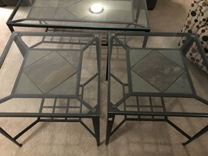 Coffee table and 2 end tables for Sale in Arlington, VA