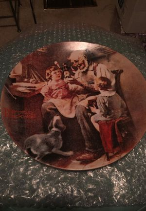 "Norman Rockwell ""THE TOY MAKER"" Collector Plate for Sale in Tewksbury, MA"