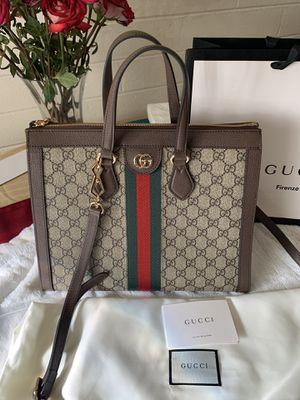 Gucci Brown canvas shoulder cross bag for Sale in Tempe, AZ