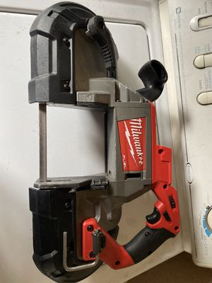 Milwaukee band saw 18v fuel for Sale in Sunnyvale, CA