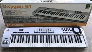 M-Audio Oxygen 61 Music Recording Keyboard for Sale in Garden Grove, CA