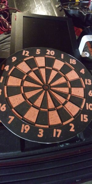 Double sided dartboard only 5dol more deals my post go look for Sale in Jupiter, FL