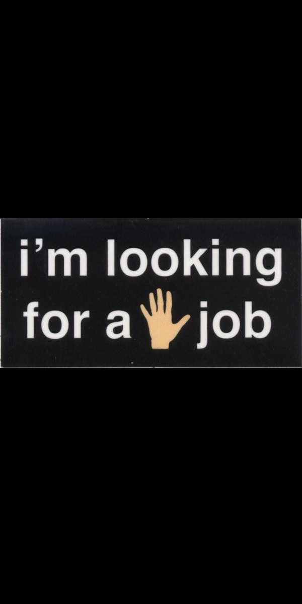 I am currently looking for work