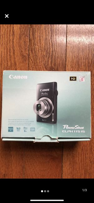 Canon PowerShot ELPH115IS for Sale in Chelmsford, MA