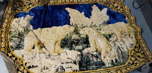 Antique Polar Bear tapestry for Sale in New Port Richey, FL