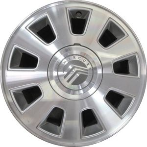 Set of four Mercury Grand Marquis wheels rims with 225/60R16 tires 90% tread crown vic Town car 5x4.5 for Sale in Long Beach, CA
