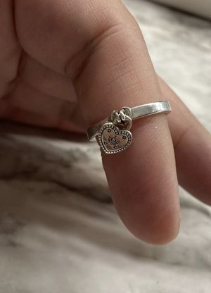 """Pandora """"Love Lock"""" ring for Sale in Fort Worth, TX"""