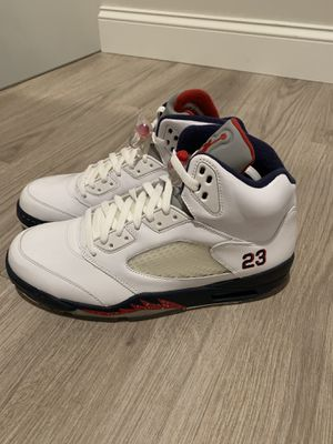 Air Jordan Retro 5's Independence Day men's size 12 for Sale in St. Louis, MO