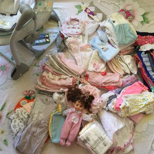 Lot of Baby Girl Clothes from newborn to 6 mo for Sale in Suffolk, VA