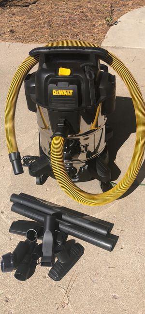 DeWALT stainless Wet/Dry 10g shop vac for Sale in Colorado Springs, CO
