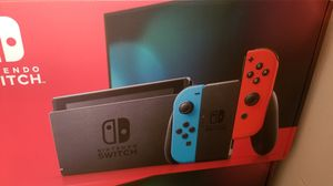 Nintendo Switch V2 NEON & GREY JoyCon Newest version HAD for Sale in Leonia, NJ