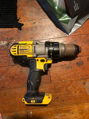 "DeWALT DCD985 20V Li-Ion 1/2"" Cordless Hammer Drill Driver (tool Only) Used for Sale in Eugene, OR"