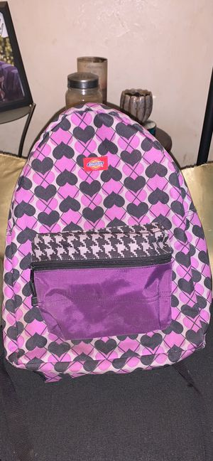 Dickies Purple & Black Hearts Back Pack for Sale in Avis, PA