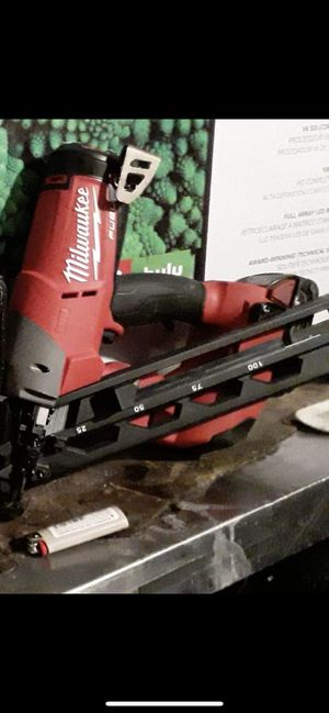 Milwaukee finish nailer for Sale in San Diego, CA