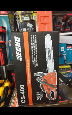 "ECHO CS-400 20""IN CHAINSAW BRAND NEW for Sale in San Bernardino, CA"