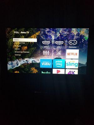 """TCL ROKU 4k 55"""" tv for Sale in Laredo, TX"""