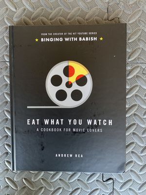 Eat What You Watch Book for Sale in Los Angeles, CA