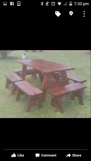 Handcrafted Indoor/outdoor furniture for Sale in Damascus, OR
