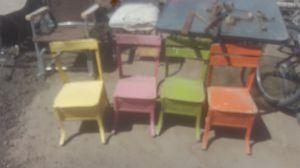Small little antique wooden children's chairs for Sale in Phoenix, AZ