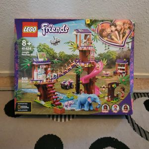 New Lego Friends Jungle Rescue Base Set ($80 Value) for Sale in Ripon, CA