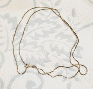 "Sterling silver 30"" chain from italy for Sale in Ashburn, VA"