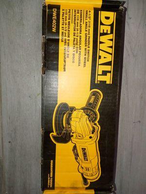 Dewalt grinder for Sale in Phoenix, AZ
