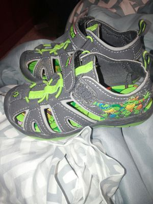 Ninja turtle sandals for Sale in Kingsport, TN