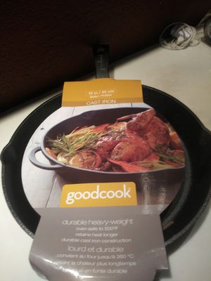 GoodCook Cast Iron skillet for Sale in Spring Hill, FL